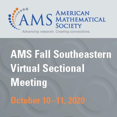 2020 Fall Southeastern Virtual Sectional Meeting